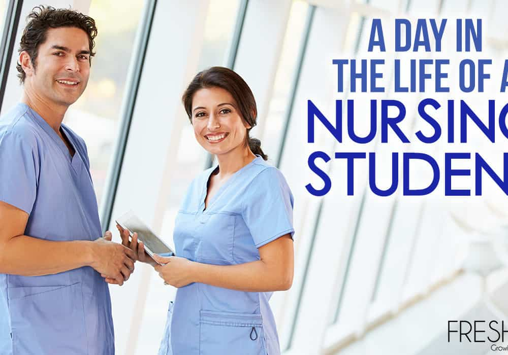 A Day in the Life of A Nursing Student