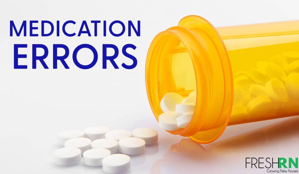 How To Avoid Medication Errors As A Nurse