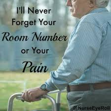 I'll Never Forget Your Room Number or Your Pain