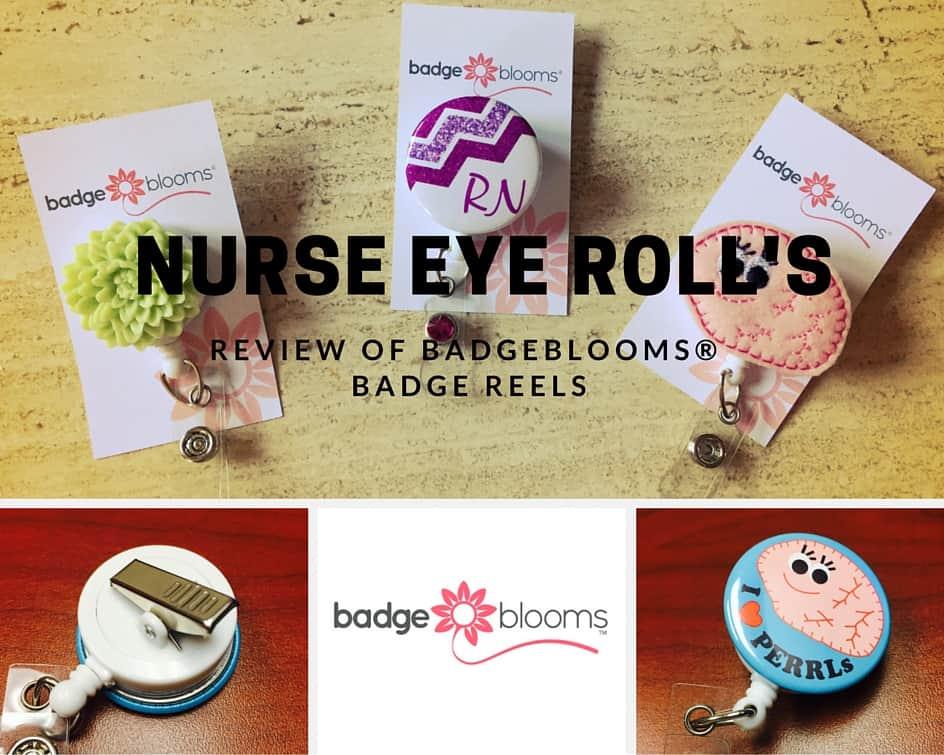 Nurse Product Review:  BadgeBlooms® Badge Reels