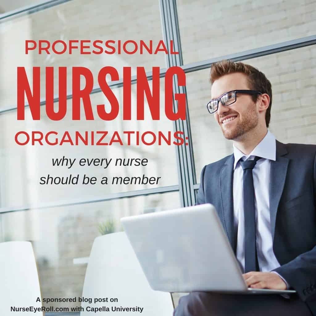 Are you a member of any Professional Nursing Organizations? Let's talk about what they do and why ever nurse should be a part of one.