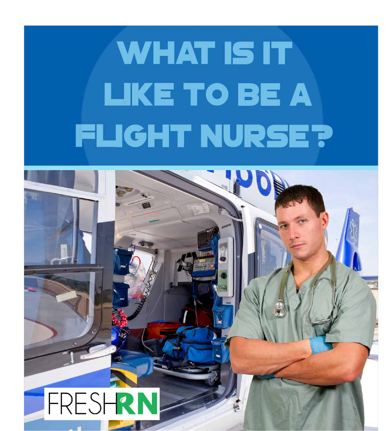 Have you ever wondered what it is like to be a flight nurse. Read on for a peek behind the curtain and what it really takes to be a flight nurse.