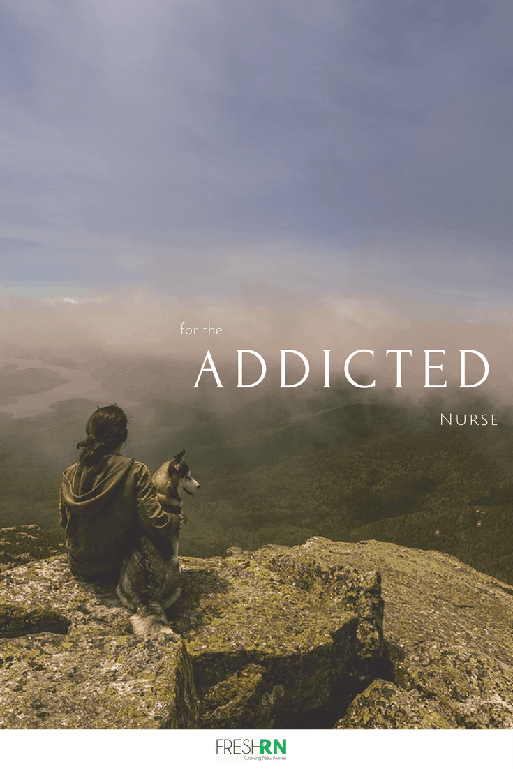 An interview with an NP who specializes in caring for nurses who struggle with addiction.