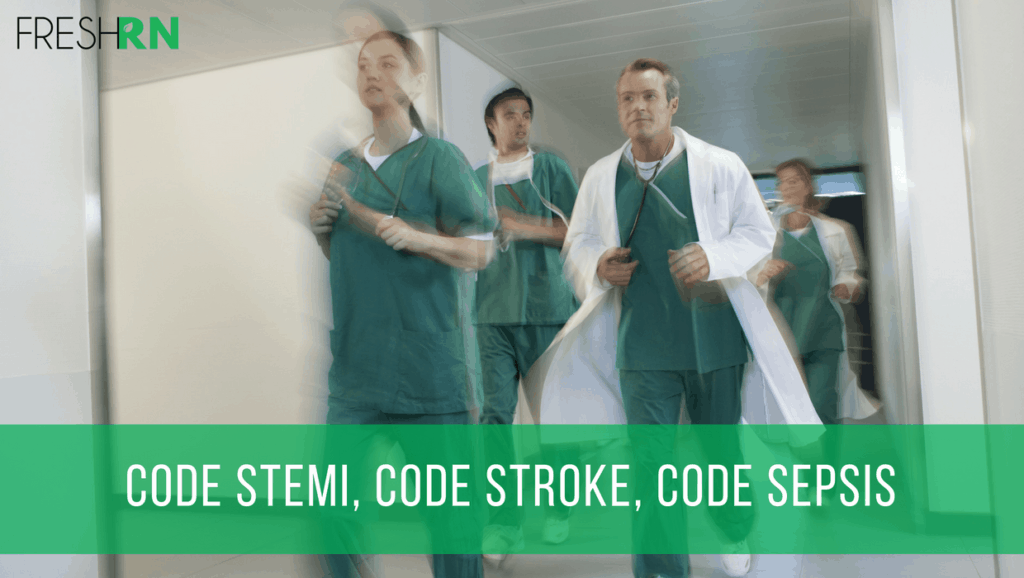 Code STEMI, Code Stroke, Code Sepsis