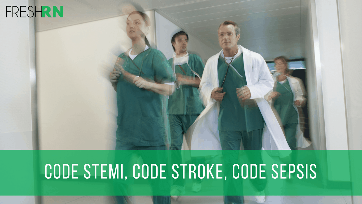 Season 2, Episode 9: Code STEMI, Code Stroke, and Code Sepsis Show Notes