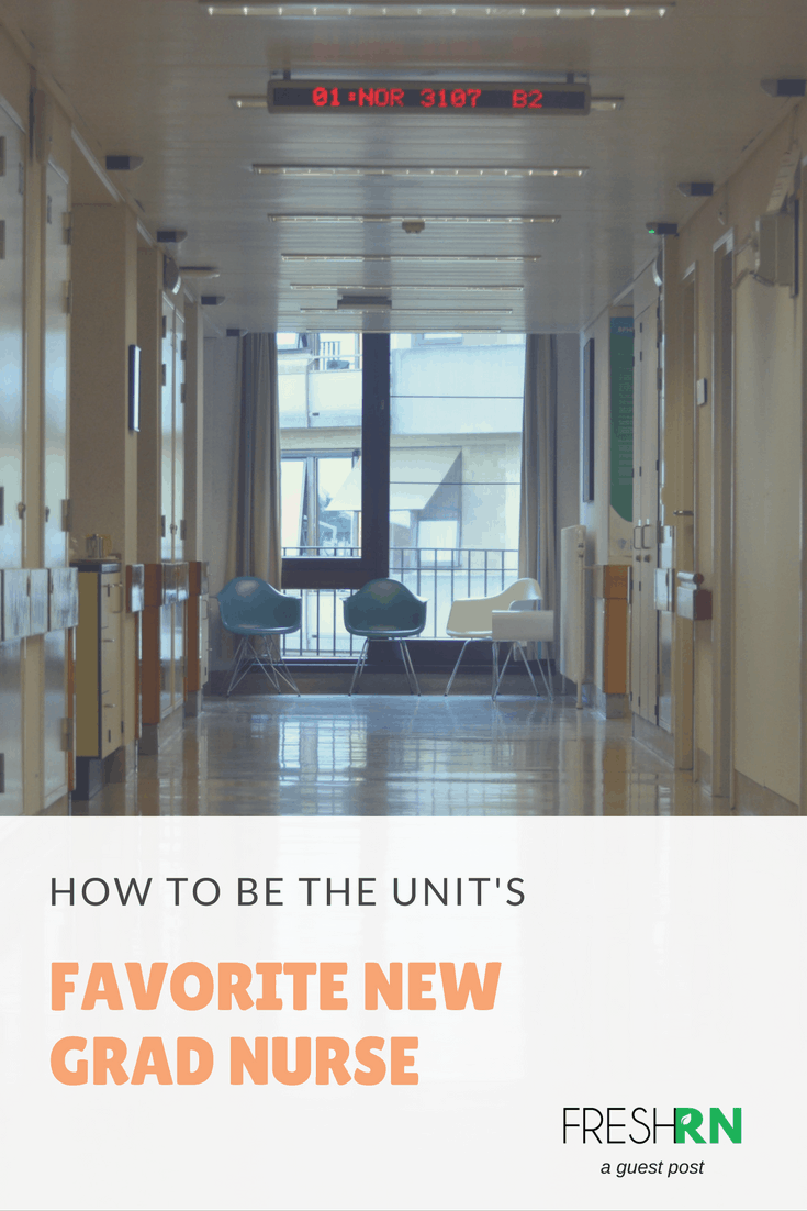 The new grad nurse must learn to manage a sick person while becoming part of the crew. These tips will help you be the best new grad nurse on the unit.