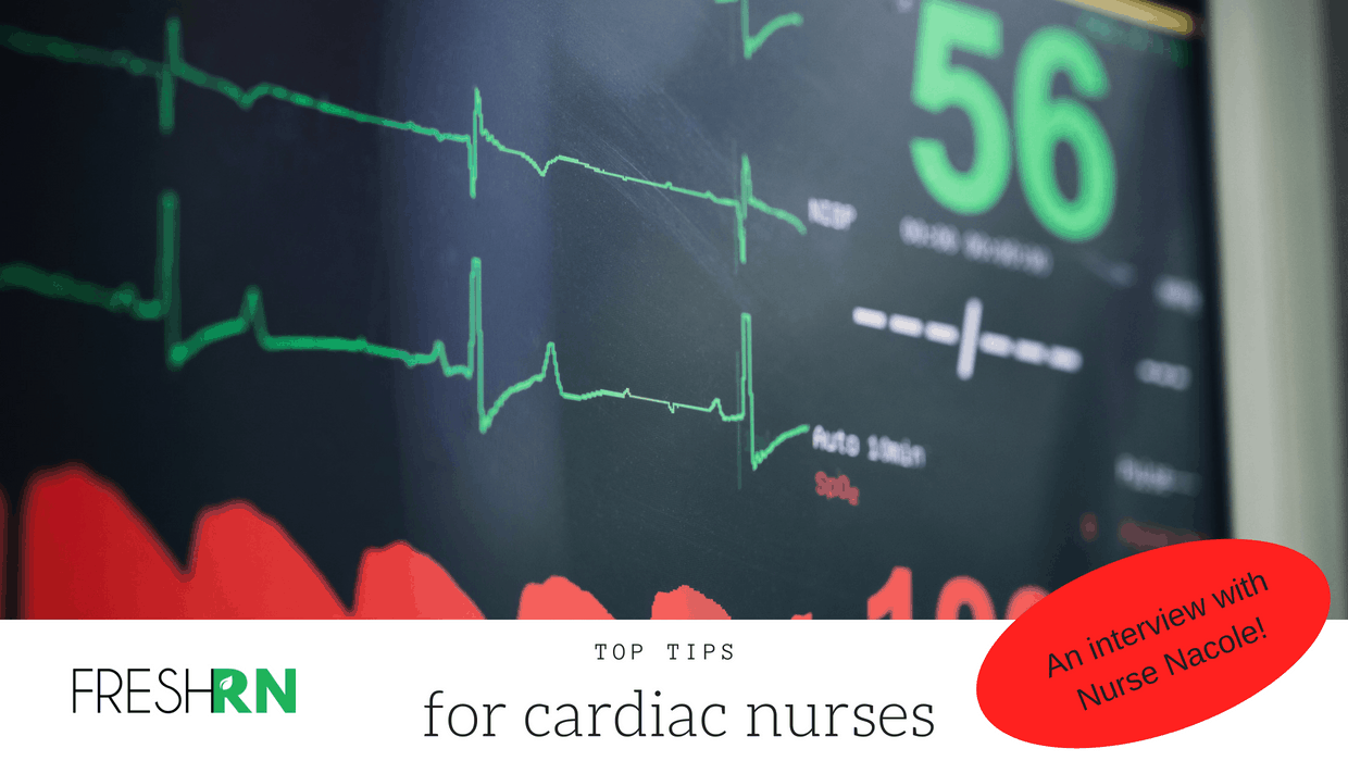 Season 3, Episode 001: Top Tips for Cardiac Nurses. An Interview with Nurse Nacole