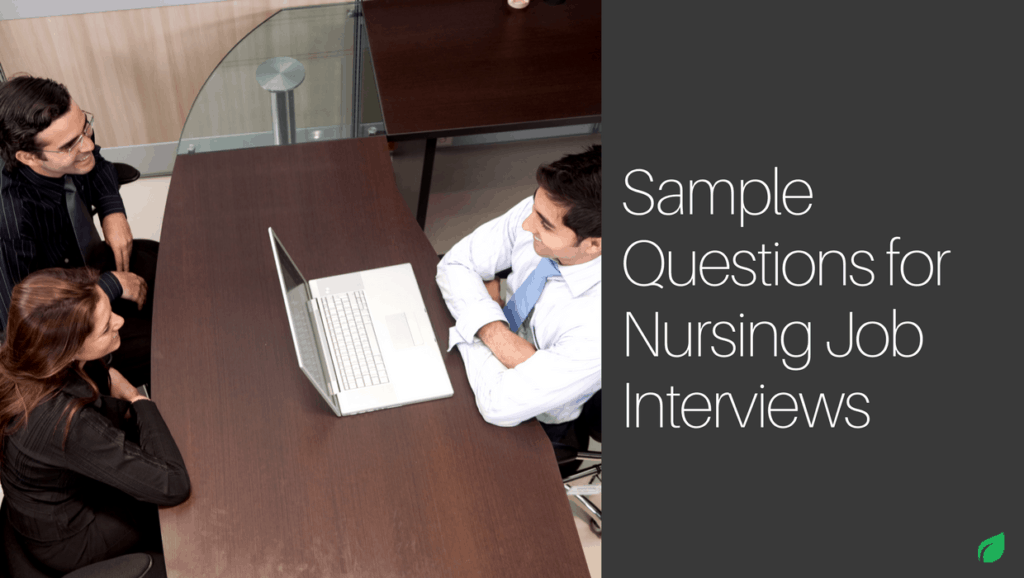 You graduate soon and have started applying at different facilities and finally got some interviews. Now lets talk questions for nurse job interviews.