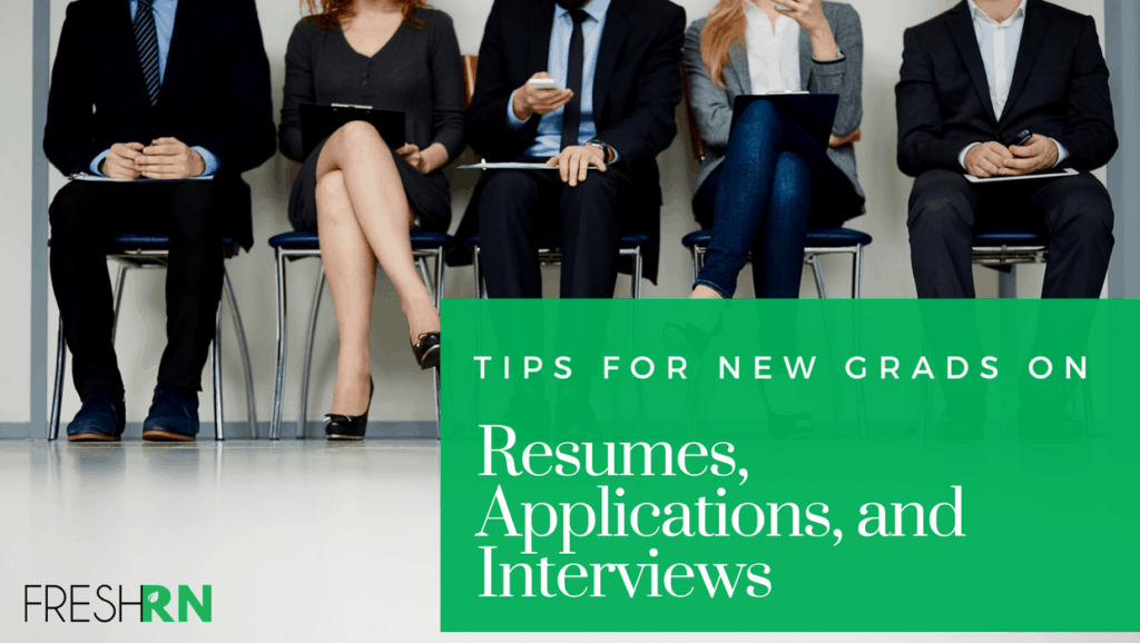 Tips for New Grad Nurses on Resumes, Applications, and Interviews Show Notes