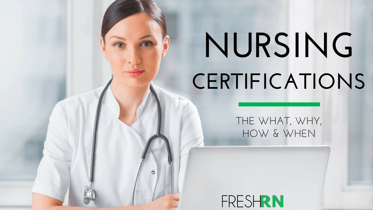 Nursing Certifications: The What, Why, and When Show Notes