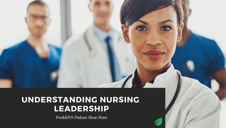 S3E29: Understanding Nursing Leadership