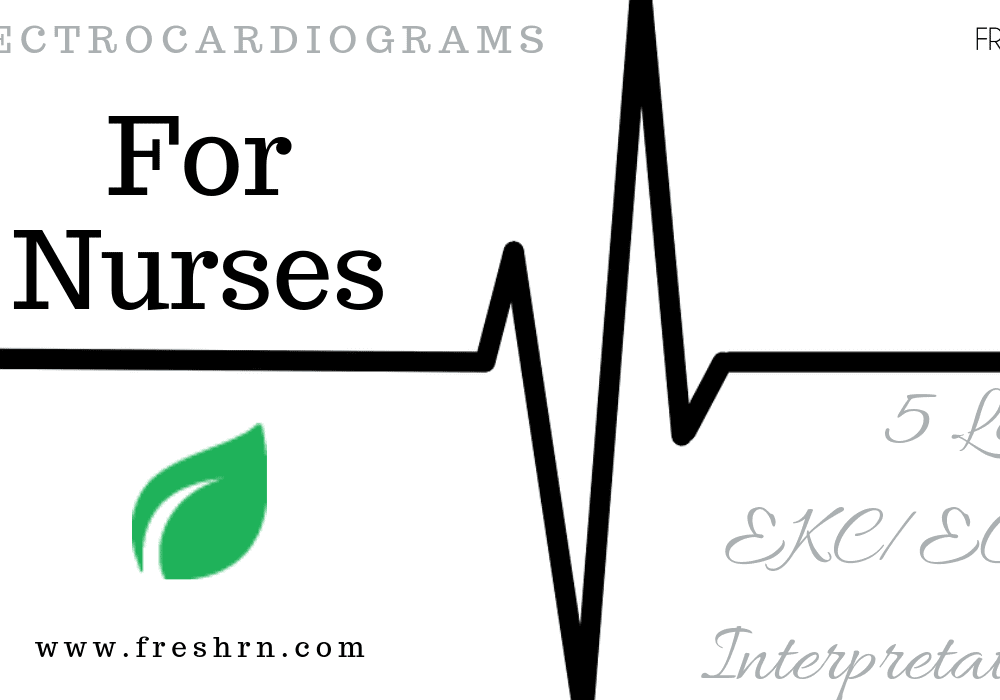5-Lead ECG Interpretation, Electrocardiogram Tips for Nurses