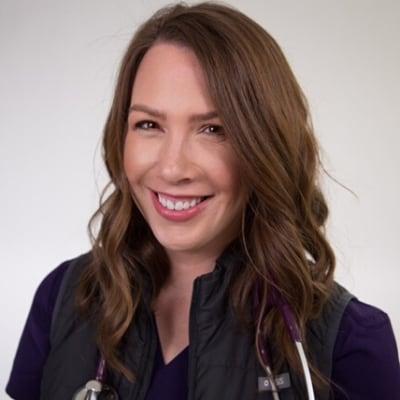Kati Kleber, MSN RN CCRN-K headshot