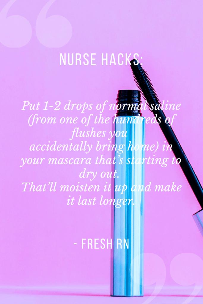 Feel overwhelmed? Try these 16 Nurse Hacks That Will Save Your Sanity. #freshrn #nurse #nurses #nursehacks #newnurse #nursetips