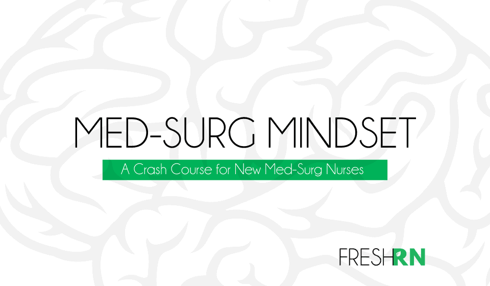 Med-Surg Mindset Cover